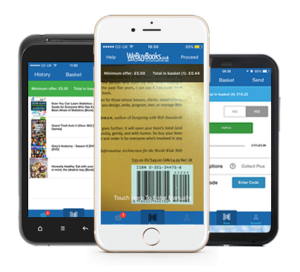 Recycle books on the go with the WeBuyBooks Mobile App