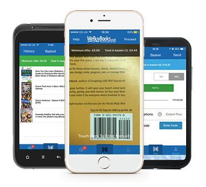 WeBuyBooks Mobile App