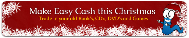 Make easy cash for Christmas with the help of We Buy Books and Wilson the worm
