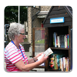 Opening our Little Free Library