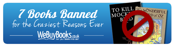7 Books Banned for the Craziest Reasons Ever