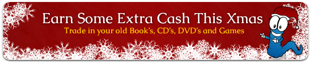 Earn some extra cash this Christmas - Sell your old books, CDs, DVDs and game with We Buy Books