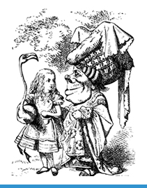 Characters from Alice's Adventures in Wonderland by Lewis Carroll