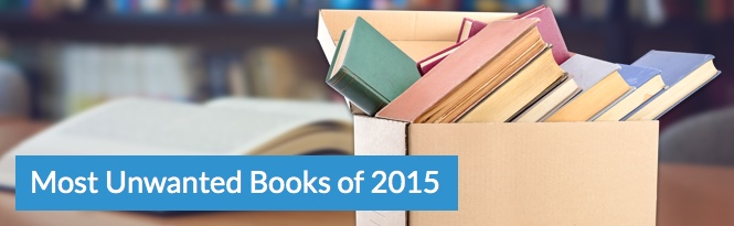 Most unwanted books of 2015
