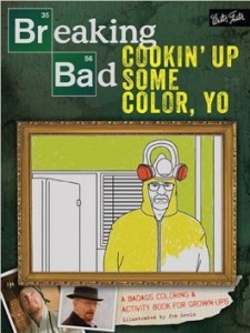 breaking bad colouring book
