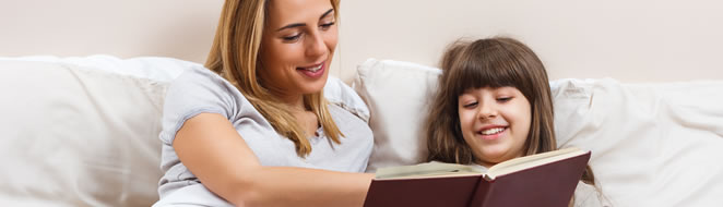 Bedtime stories are good for children