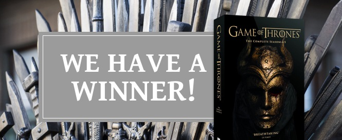 WeBuyBooks - Game Of Thrones Competition Winner