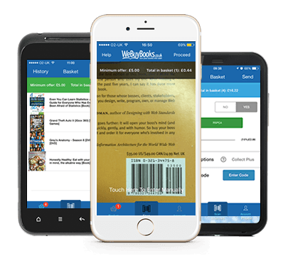 WeBuyBooks App