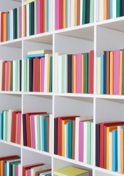 Organise your book shelves