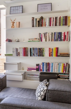 organise your books in alphabetical order