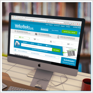 WeBuyBooks website