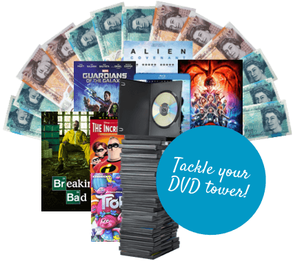Tackle the DVD tower