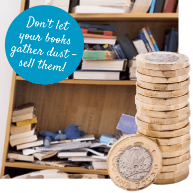 Slim down your book collection