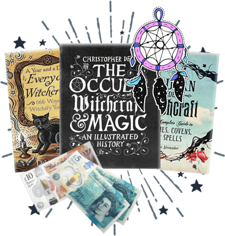 How do I sell witchcraft and occult books using WeBuyBooks?