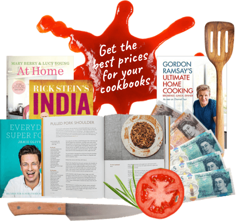 Exchange your unwanted cookery books for cash