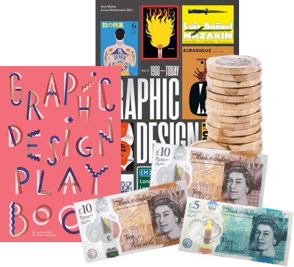 Sell Graphic Design Books for cash
