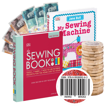 Make cash for your used sewing books!