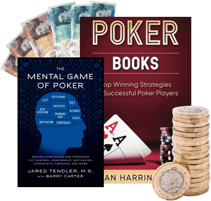 Sell your old Poker Books that you don't want anymore for cash