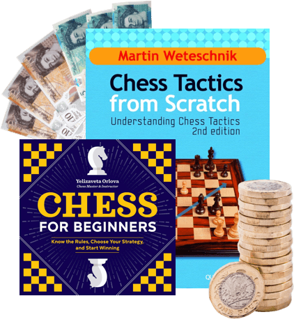 Sell Chess Books in 4 easy steps