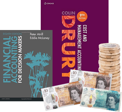 exchange your used accounting/accountancy books for cash.