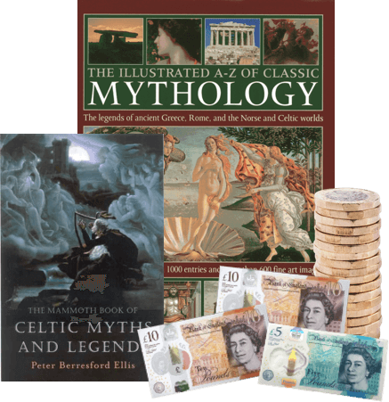 a straightforward way to sell mythology books for cash image