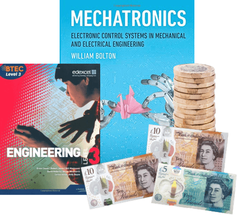 exchange electronic engineering books for cash image