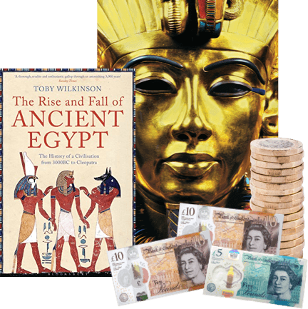 Exchange used Egypt & Egyptology books for cash!