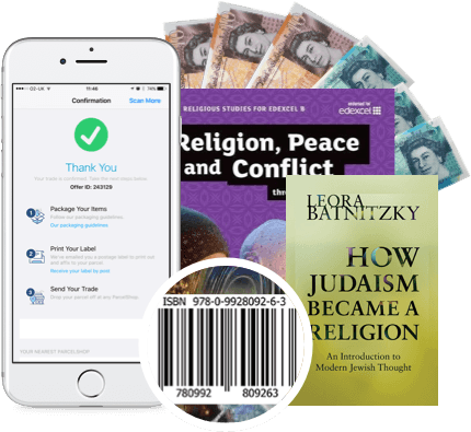 Sell used religion books on the go with our mobile app!