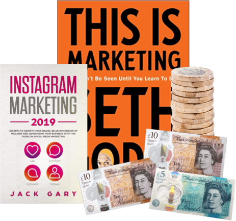 how do I exchange used marketing books for cash image