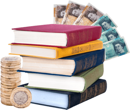 Time to make money for your books image
