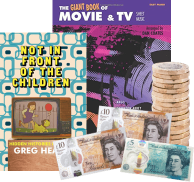 exchange film and TV books for cash image
