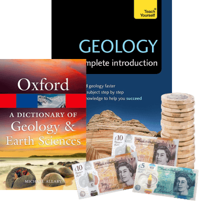 exchange geology books for cash image