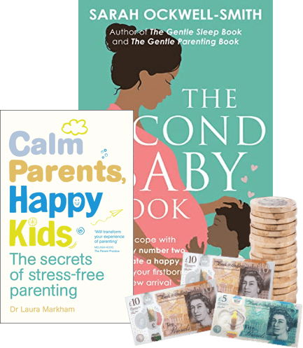 Exchange used parenting books for cash