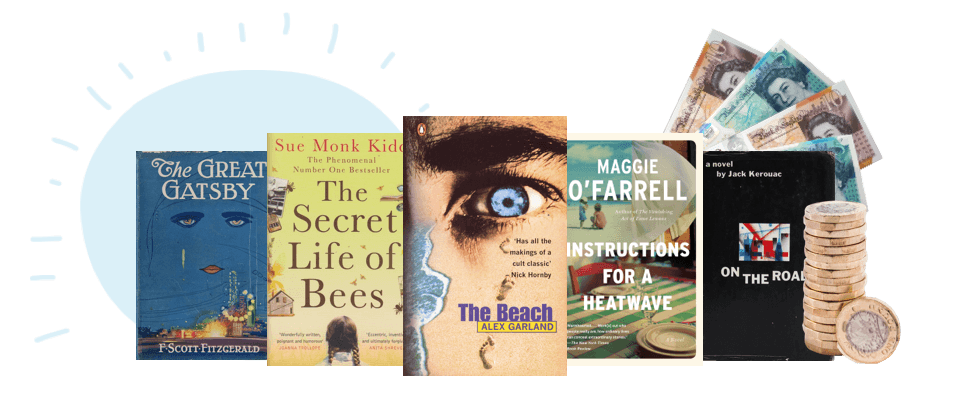 Collection of summer reads