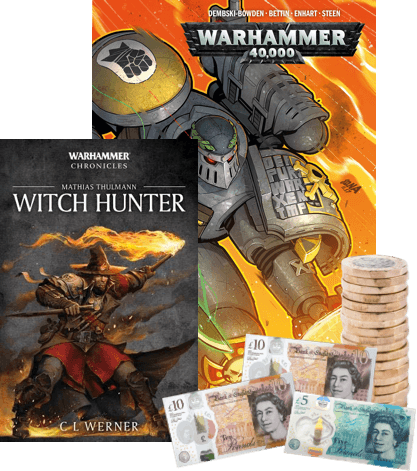 the convenient way to sell warhammer books online image