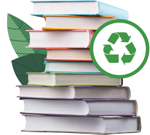 How does buying new books harm the planet