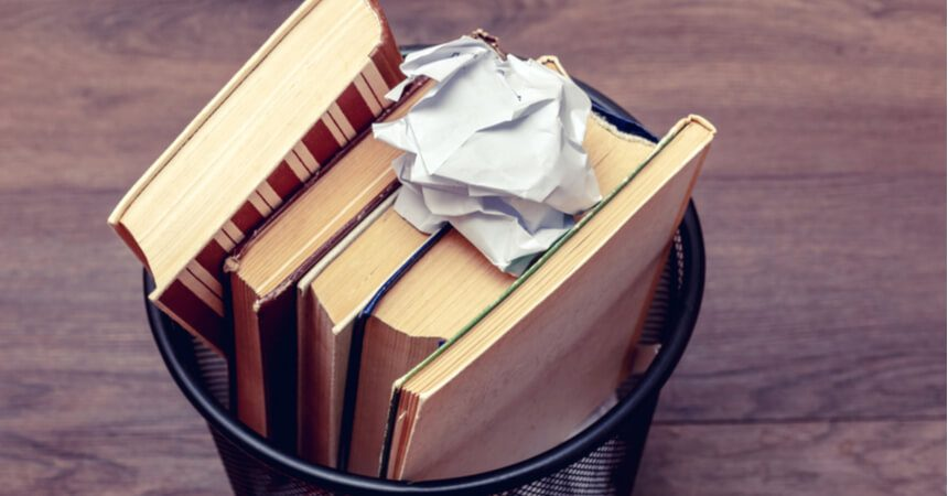 Mythbuster: Can Old Books Be Recycled?