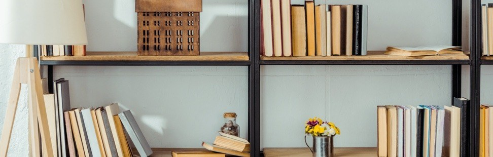 How to Organise Your Bookshelf in 3 Steps