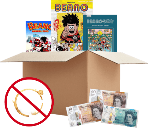 Exchange Beano Annuals for Cash with WeBuyBooks