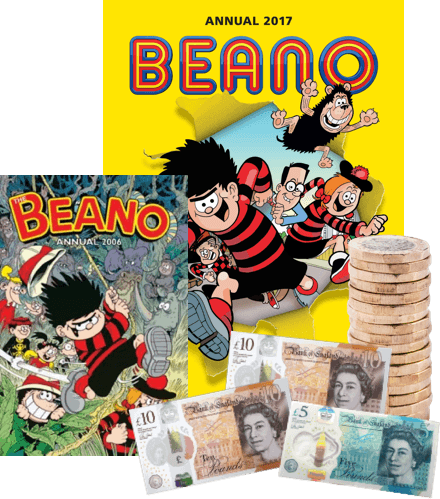 Sell Beano Annuals with WeBuyBooks