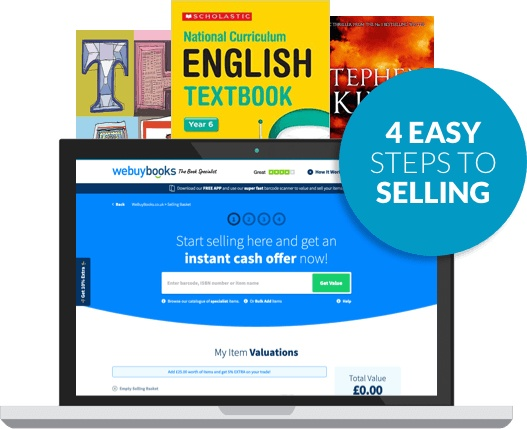 Sell Books Online Next Day Payments Award Winning Service Webuybooks