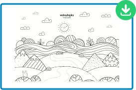 childrens coloring sheet