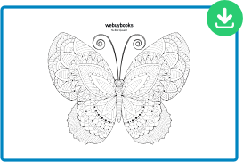 betterfly coloring sheet