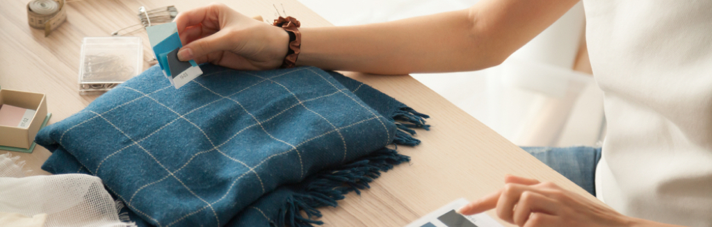 Make your own fabric dust jacket